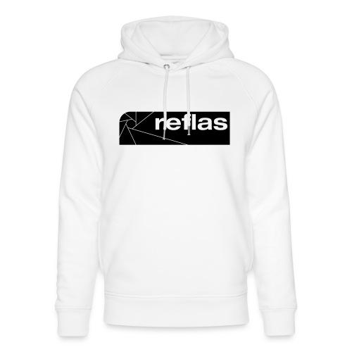 Reflas Clothing Black/Gray - Felpa con cappuccio ecologica unisex di Stanley & Stella