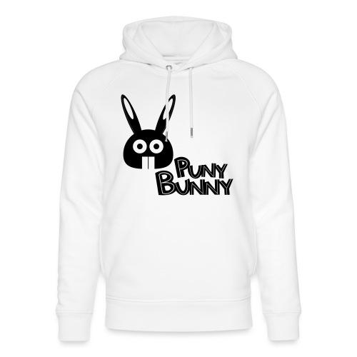 Puny Bunny text - Stanley & Stellan unisex-luomuhuppari