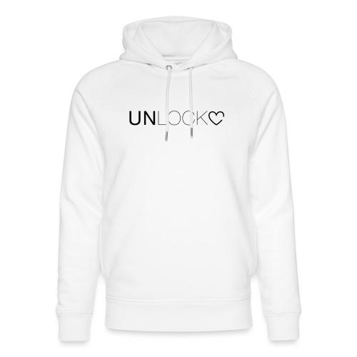Unlock - Felpa con cappuccio ecologica unisex di Stanley & Stella