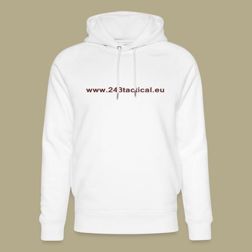 .243 Tactical Website - Uniseks bio-hoodie van Stanley & Stella