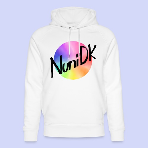 Rainbow shade, NuniDK Collection - Female top - Stanley & Stella unisex hoodie af økologisk bomuld