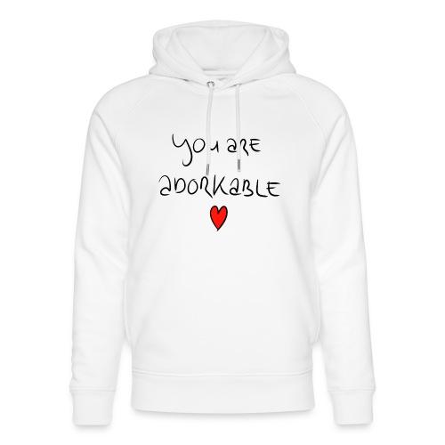 adorkable - Unisex Organic Hoodie by Stanley & Stella