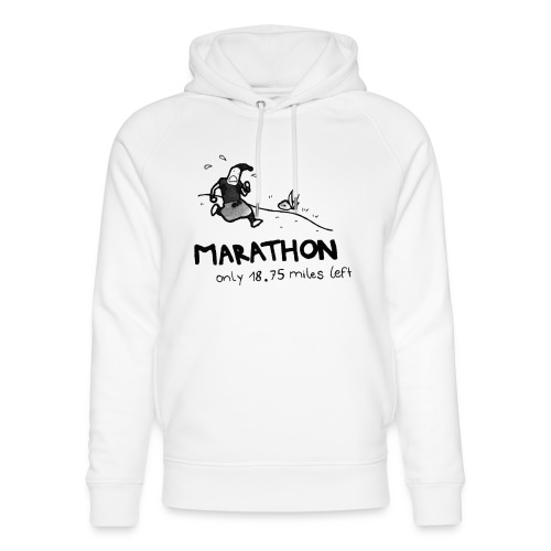 marathon-png - Ekologiczna bluza z kapturem typu unisex Stanley & Stella
