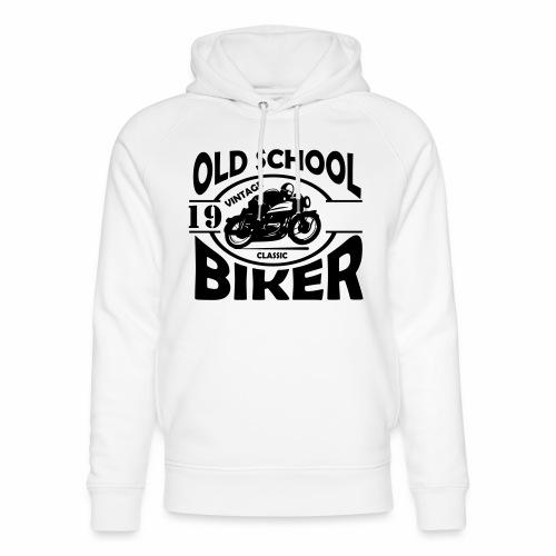 Old School Biker (customise the year) - Unisex Organic Hoodie by Stanley & Stella