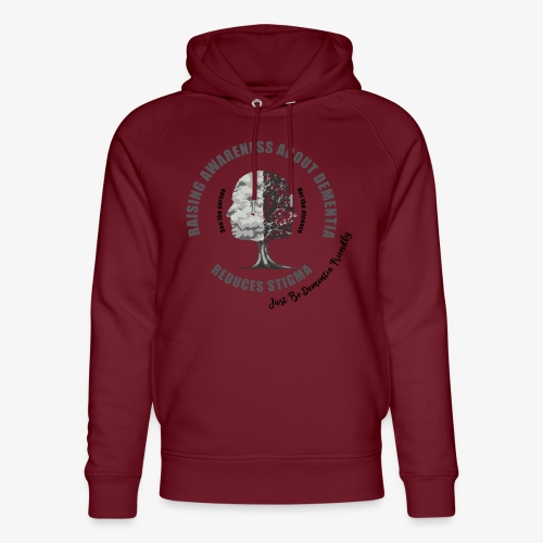 Reducing the Stigma of Dementia - Unisex Organic Hoodie by Stanley & Stella