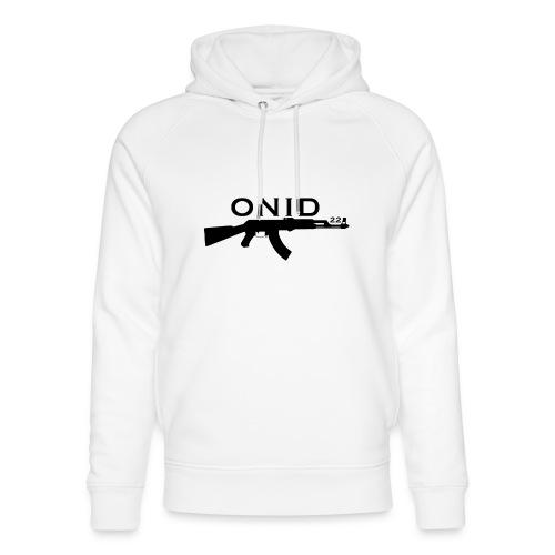 logo ONID-22 nero - Felpa con cappuccio ecologica unisex di Stanley & Stella