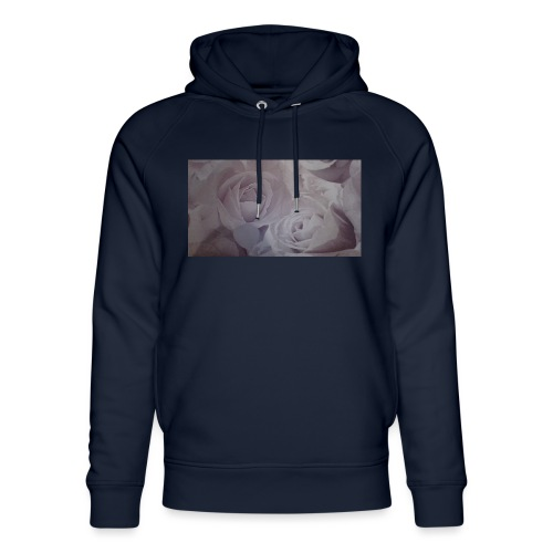 perfect pink rose's - Unisex Organic Hoodie by Stanley & Stella