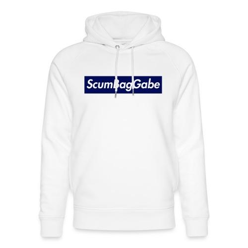 ScumBagGabe Blue XL Logo - Unisex Organic Hoodie by Stanley & Stella