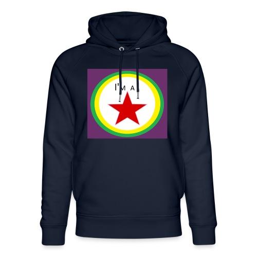 I'm a STAR! - Unisex Organic Hoodie by Stanley & Stella