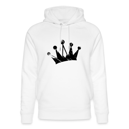 Faded crown - Unisex Organic Hoodie by Stanley & Stella