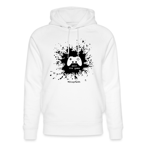 Join the game - Unisex Organic Hoodie by Stanley & Stella