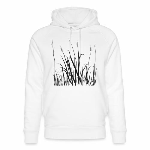 The grass is tall - Felpa con cappuccio ecologica unisex di Stanley & Stella