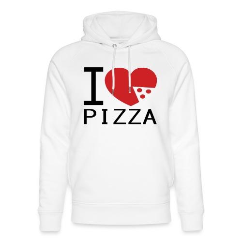 Yo Amo la Pizza - Sudadera con capucha ecológica unisex de Stanley & Stella