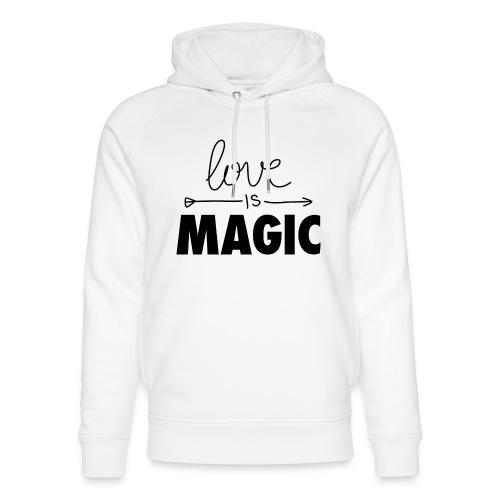 El Amor es Mágico - Sudadera con capucha ecológica unisex de Stanley & Stella