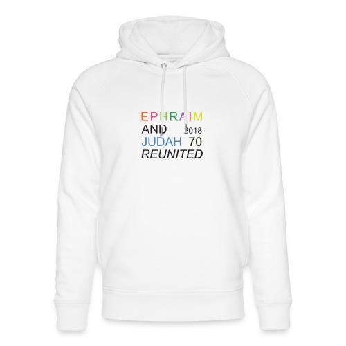EPHRAIM AND JUDAH Reunited 2018 - 70 - Uniseks bio-hoodie van Stanley & Stella