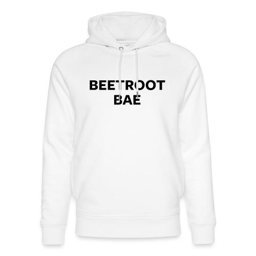 Beetroot Bae - Unisex Organic Hoodie by Stanley & Stella
