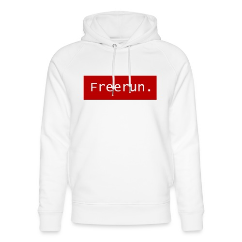 Freerun. - Uniseks bio-hoodie van Stanley & Stella