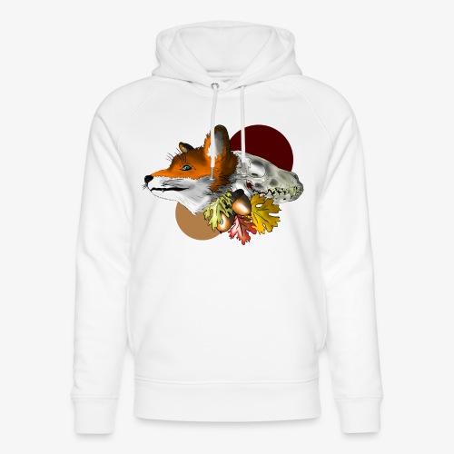 Autumn Foxey - Felpa con cappuccio ecologica unisex di Stanley & Stella