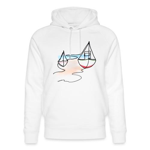 Fiskerbåde 2 - Stanley & Stella unisex hoodie af økologisk bomuld