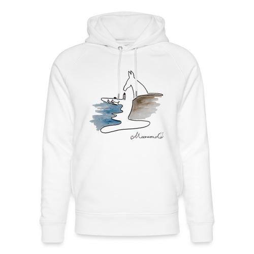 Blåvand 2 med logo - Stanley & Stella unisex hoodie af økologisk bomuld
