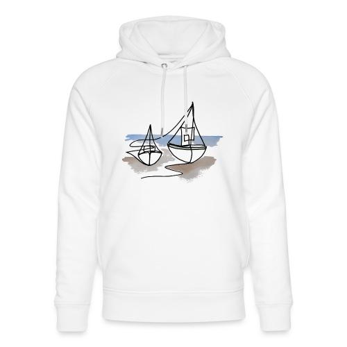 Fiskerbåde 3 - Stanley & Stella unisex hoodie af økologisk bomuld