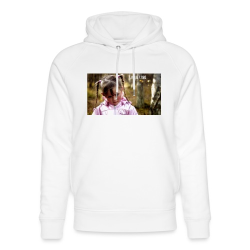 Lille Lise Picture - Unisex Organic Hoodie by Stanley & Stella