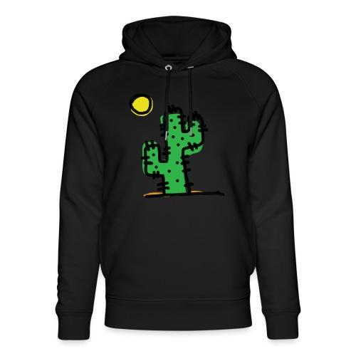 Cactus single - Felpa con cappuccio ecologica unisex di Stanley & Stella