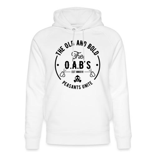 OAB unite black - Unisex Organic Hoodie by Stanley & Stella