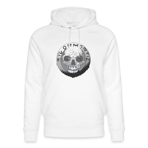 Rigormortiz Black and White Design - Unisex Organic Hoodie by Stanley & Stella