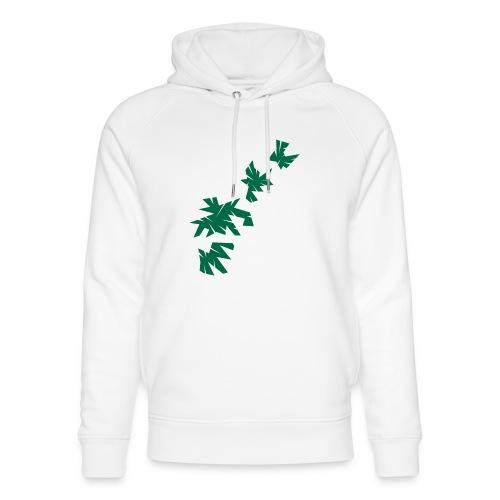 Green Leaves - Unisex Bio-Hoodie von Stanley & Stella