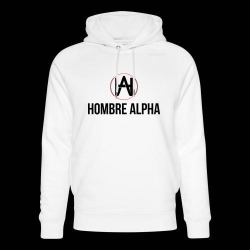 Hombre Alpha Logo - Sudadera con capucha ecológica unisex de Stanley & Stella