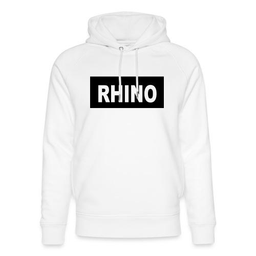 Rhino Logo - Unisex Organic Hoodie by Stanley & Stella
