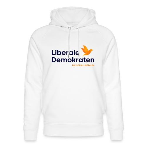 Logo Liberale Demokraten - Unisex Bio-Hoodie von Stanley & Stella
