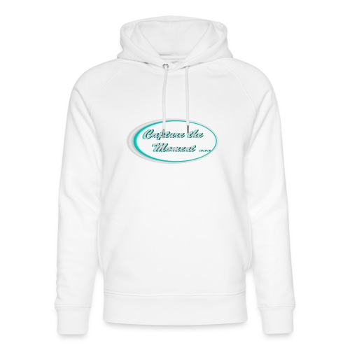 Logo capture the moment photography slogan - Unisex Organic Hoodie by Stanley & Stella