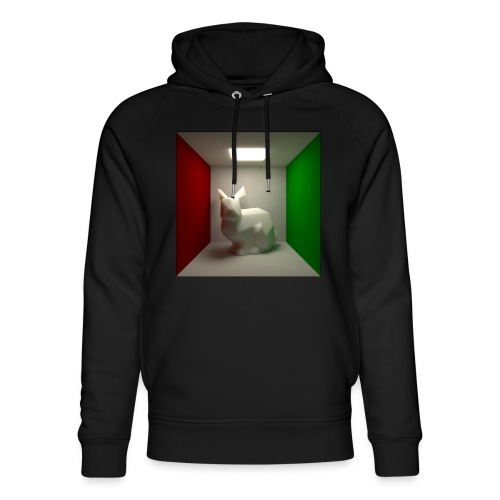 Bunny in a Box - Unisex Organic Hoodie by Stanley & Stella