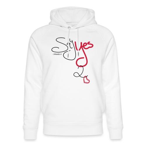Yes 2 Love - Uniseks bio-hoodie van Stanley & Stella