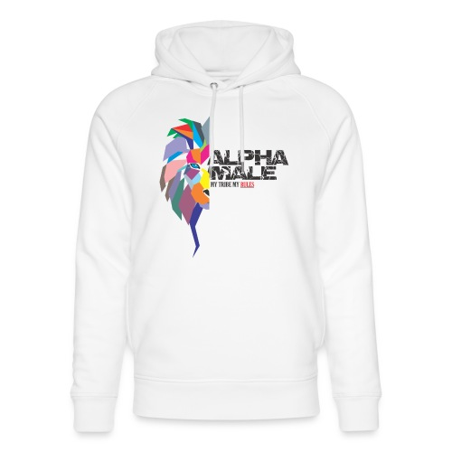 alpha - Unisex Organic Hoodie by Stanley & Stella