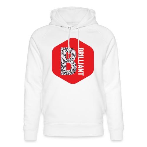 B brilliant red - Uniseks bio-hoodie van Stanley & Stella