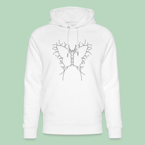 Vlinder Butterfly - Uniseks bio-hoodie van Stanley & Stella