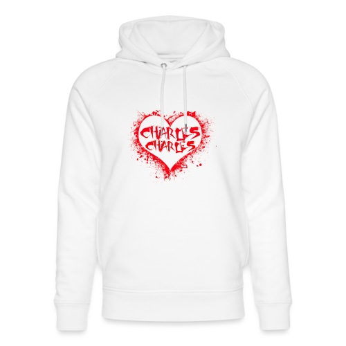 CHARLES CHARLES VALENTINES PRINT - LIMITED EDITION - Unisex Organic Hoodie by Stanley & Stella