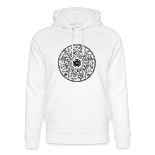 Mandala mit Schriftzug Love - Unisex Bio-Hoodie von Stanley & Stella