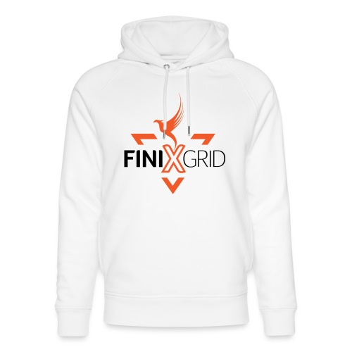 FinixGrid Orange - Unisex Organic Hoodie by Stanley & Stella
