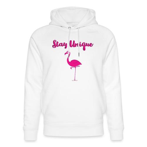Stay Unique Flamingo - Unisex Bio-Hoodie von Stanley & Stella