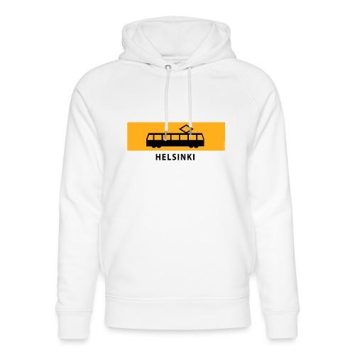 RATIKKA PYSÄKKI HELSINKI T-paidat ja lahjatuotteet - Stanley & Stellan unisex-luomuhuppari