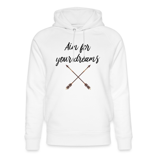 Aim for your Dreams - Stanley & Stellan unisex-luomuhuppari