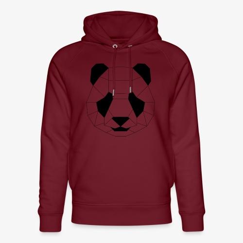 Panda schwarz - Unisex Bio-Hoodie von Stanley & Stella