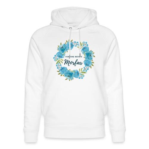 Verdens bedste morfar - Stanley & Stella unisex hoodie af økologisk bomuld