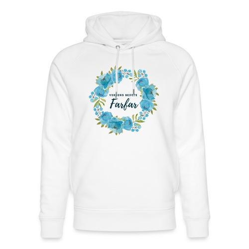 Verdens bedste farfar - Stanley & Stella unisex hoodie af økologisk bomuld