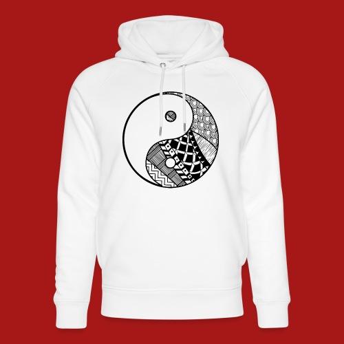 Decorative-Yin-Yang - Stanley & Stella unisex hoodie af økologisk bomuld