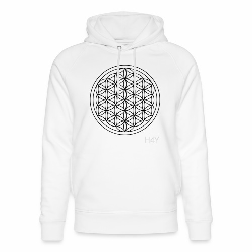 Flower Of Life - This Design Will Heal You - Stanley & Stella unisex hoodie af økologisk bomuld